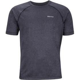 Marmot Accelerate SS Shirt Herr black heather